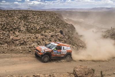 MINI celebrates its fourth consecutive overall win at the Dakar Rally-62197