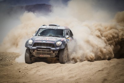 MINI celebrates its fourth consecutive overall win at the Dakar Rally-62199